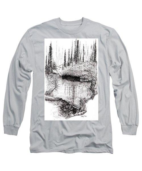 Alaska Pond Long Sleeve T-Shirt
