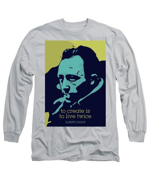 Albert Camus Long Sleeve T-Shirt