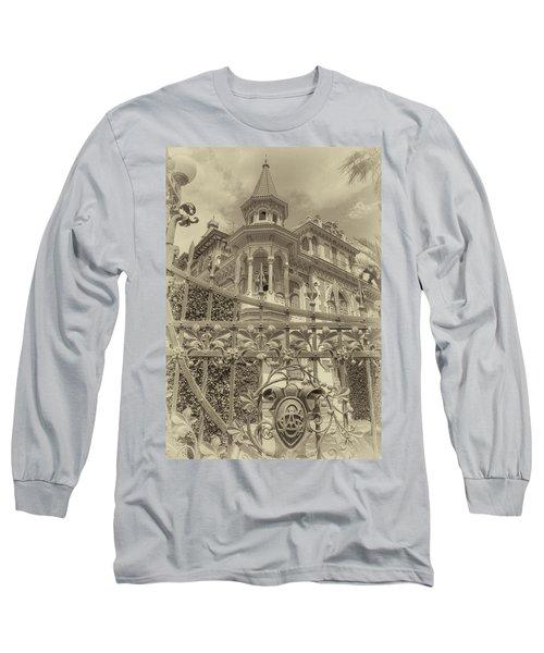 Albert Chamas Villa Long Sleeve T-Shirt by Nigel Fletcher-Jones