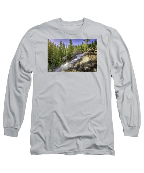 Alberta Falls Long Sleeve T-Shirt by Mary Angelini