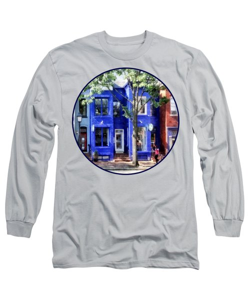 Alexandria Va - Colorful Street Long Sleeve T-Shirt