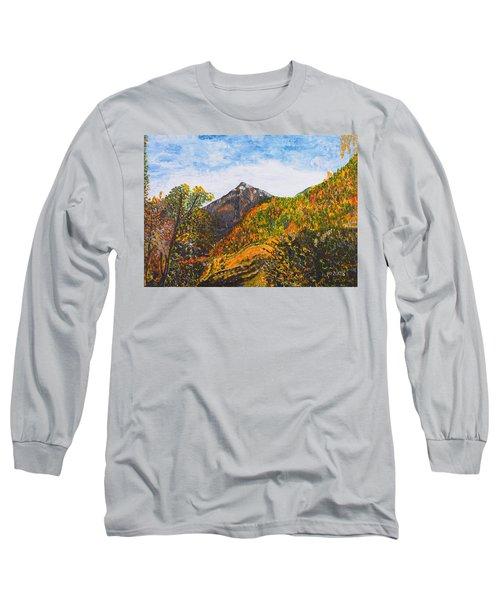 Algund View Long Sleeve T-Shirt by Valerie Ornstein