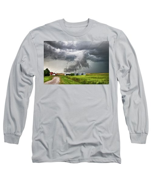 Alive Sky In Wyoming Long Sleeve T-Shirt