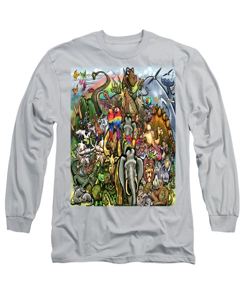 All Creatures Great Small Long Sleeve T-Shirt by Kevin Middleton