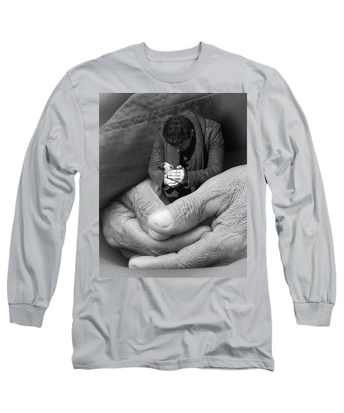 All That Is Precious Long Sleeve T-Shirt by I'ina Van Lawick