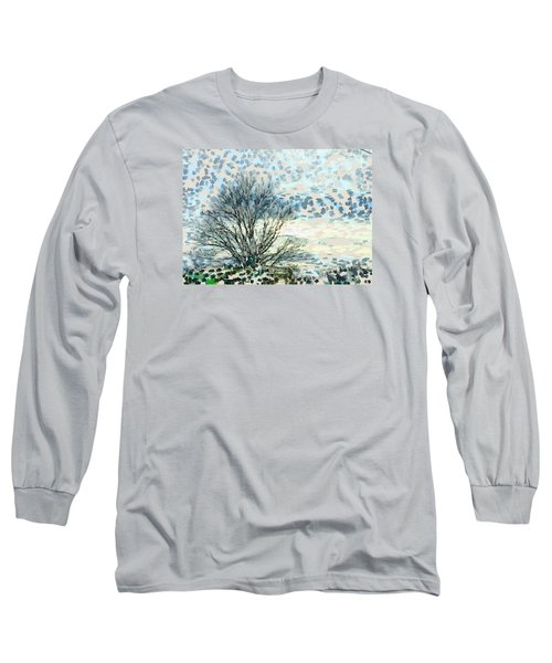 All The Leaves Have Gone Long Sleeve T-Shirt by Ronda Broatch