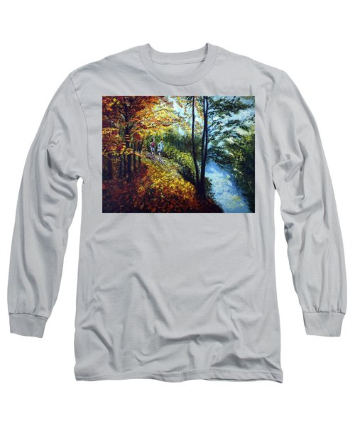 Alley By The Lake 1 Long Sleeve T-Shirt