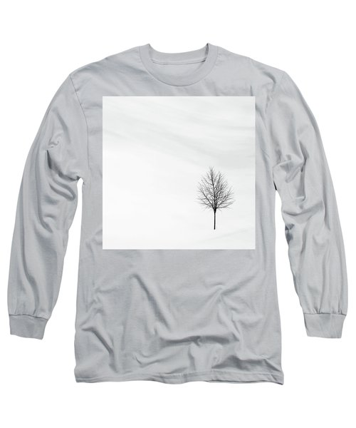 Alone In The Storm Long Sleeve T-Shirt