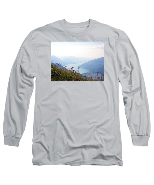 Alpine Flora On Top Of Schynige Platte Long Sleeve T-Shirt