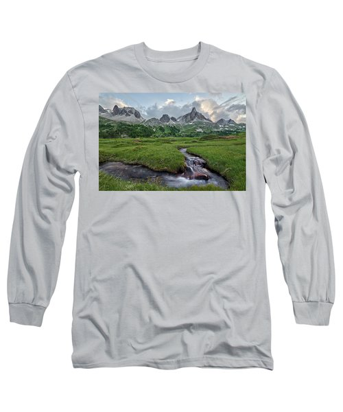 Alps In The Afternoon Long Sleeve T-Shirt