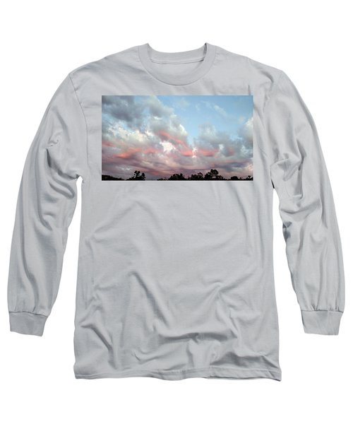 Amazing Clouds At Dusk Long Sleeve T-Shirt