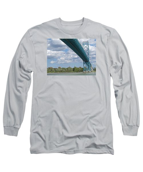 Ambassador Bridge - Windsor Approach Long Sleeve T-Shirt