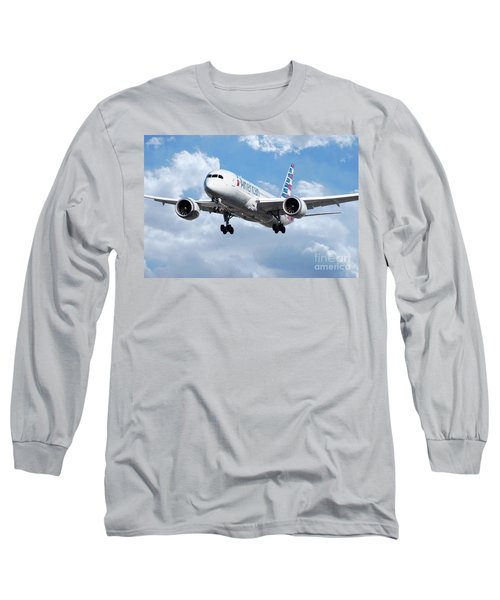 American Airlines Long Sleeve T Shirts Fine Art America