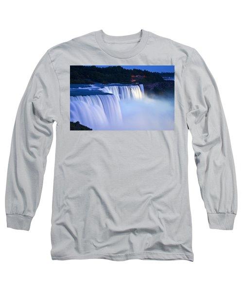 American Falls Niagara Falls Long Sleeve T-Shirt