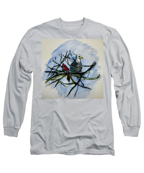 American Picture Long Sleeve T-Shirt by Clyde J Kell