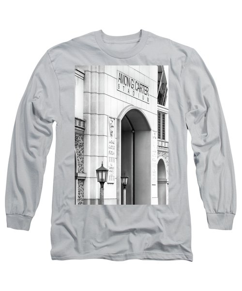 Amon Carter Stadium 110416 Bw Long Sleeve T-Shirt