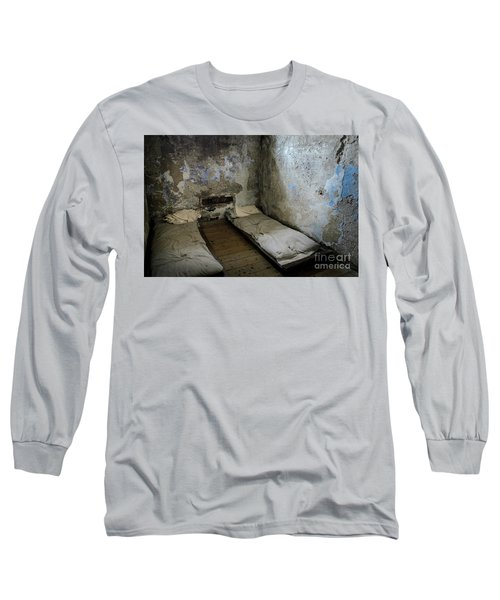 Long Sleeve T-Shirt featuring the photograph An Empty Cell In Cork City Gaol by RicardMN Photography