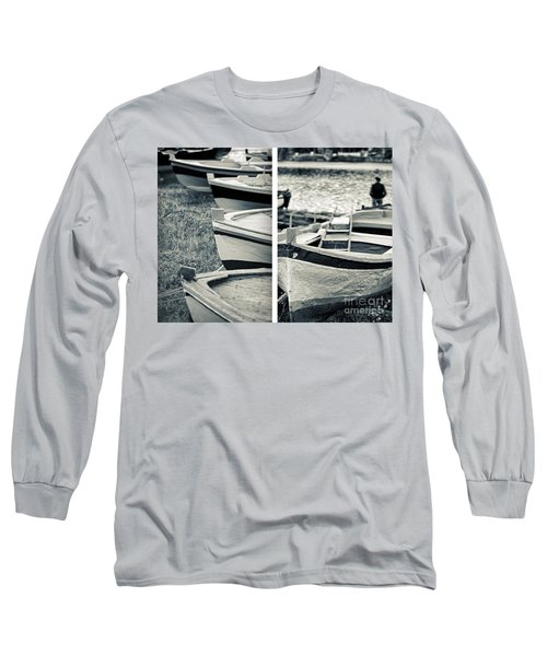 An Old Man's Boats Long Sleeve T-Shirt