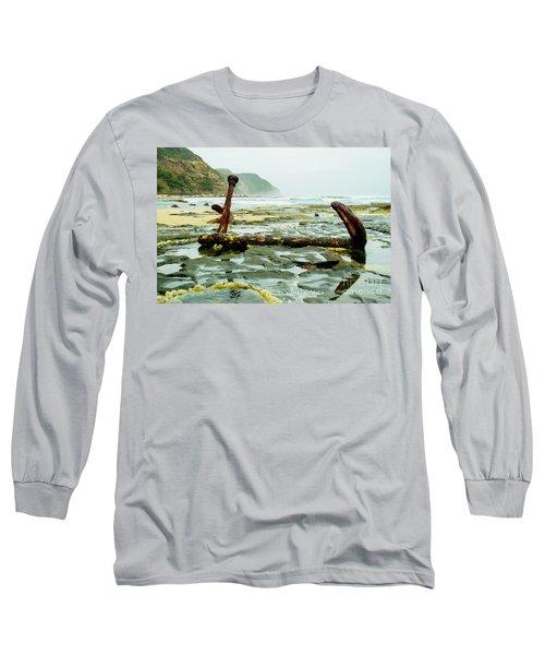Anchor At Rest Long Sleeve T-Shirt