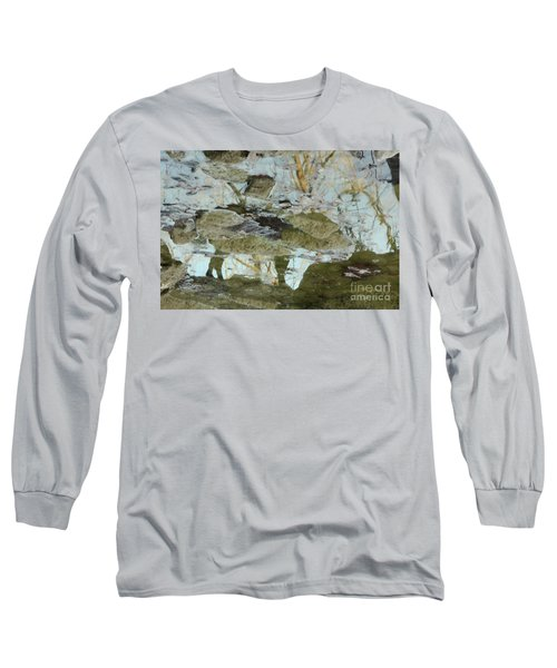 Angel Disguised As Coyote Long Sleeve T-Shirt