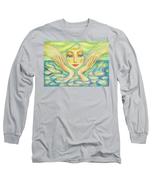 Angel Of Serenity Long Sleeve T-Shirt