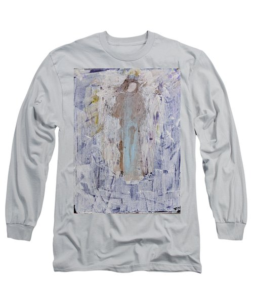 Angel With Her Horse Long Sleeve T-Shirt