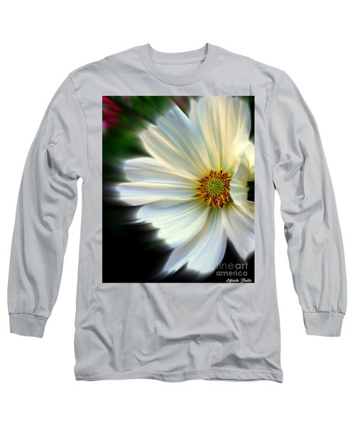 Angelic Long Sleeve T-Shirt by Elfriede Fulda
