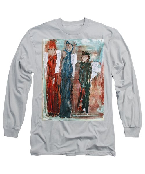 Angels Of The Night Long Sleeve T-Shirt