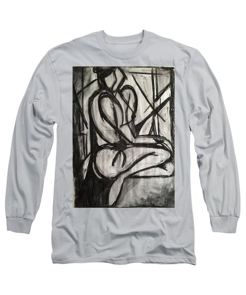 Angled Repose Long Sleeve T-Shirt