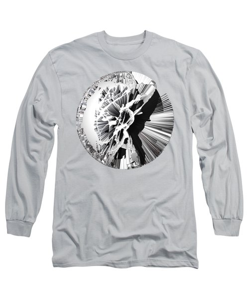Angst IIi Painting As A Spherical Depth Map. 1 Long Sleeve T-Shirt by Paul Davenport