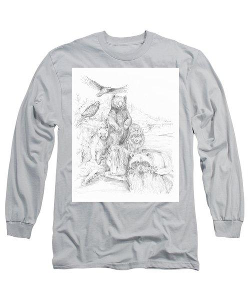 Animal Wisdom Long Sleeve T-Shirt