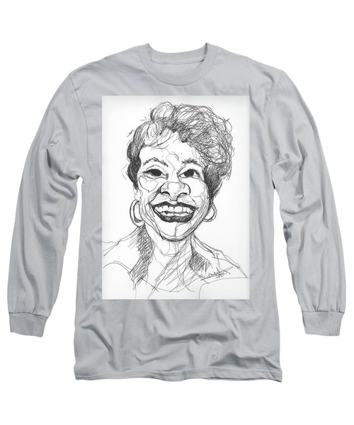 Annette Caricature Long Sleeve T-Shirt