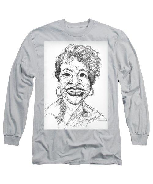 Annette Caricature Long Sleeve T-Shirt