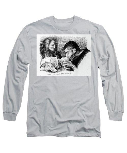 Annie Alexis And Nicolas Long Sleeve T-Shirt