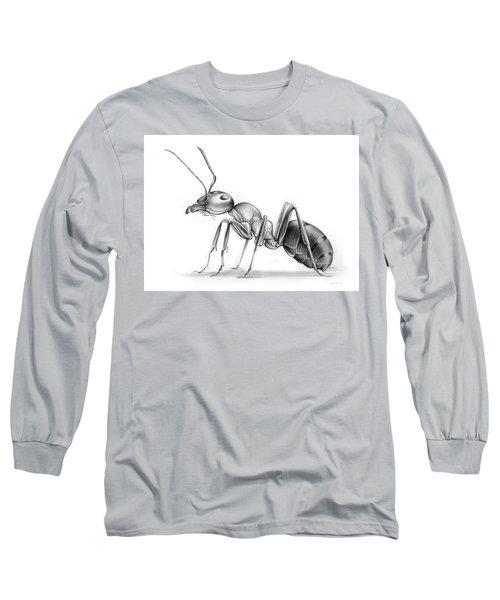 Ant Long Sleeve T-Shirt by Greg Joens