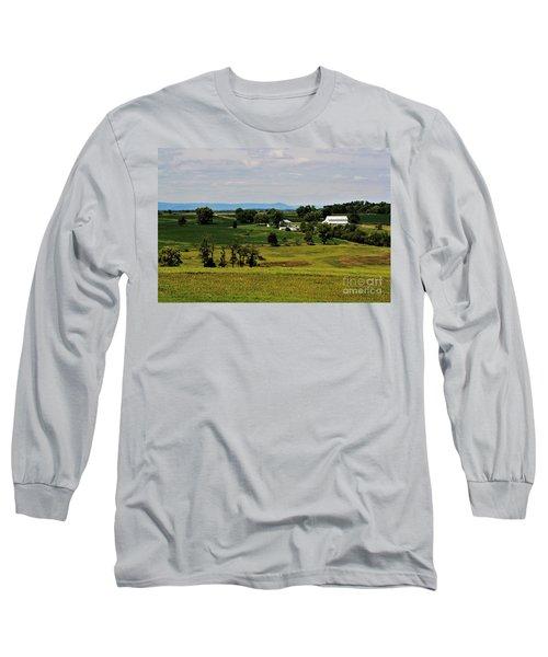 Antietam Battlefield And Mumma Farm Long Sleeve T-Shirt