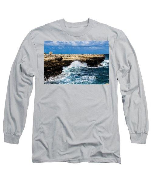 Antigua Shoreline Long Sleeve T-Shirt