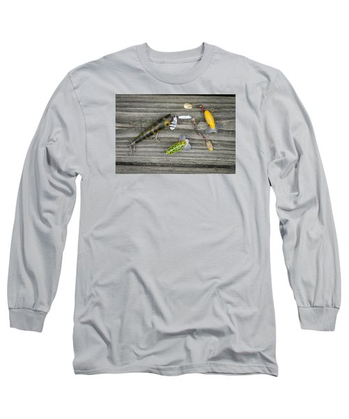 Antique Fishing Lures Long Sleeve T-Shirt
