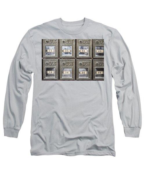 Antique Mailbox Long Sleeve T-Shirt
