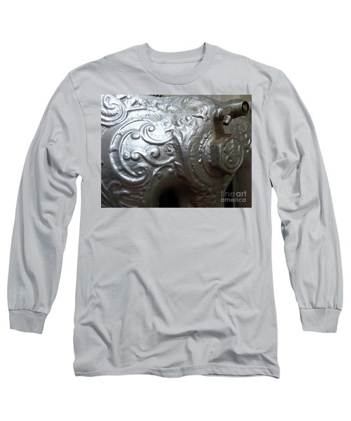 Antique Radiator Close-up Long Sleeve T-Shirt