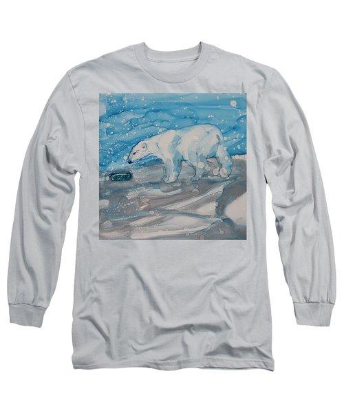Anybody Home? Long Sleeve T-Shirt by Ruth Kamenev