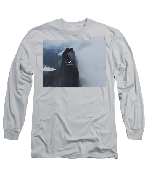 Long Sleeve T-Shirt featuring the photograph Aop At Black Tusk by Mark Alan Perry