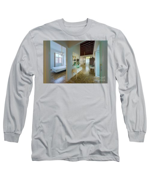 Long Sleeve T-Shirt featuring the photograph Apartment In The Heart Of Cadiz 17th Century Spain by Pablo Avanzini
