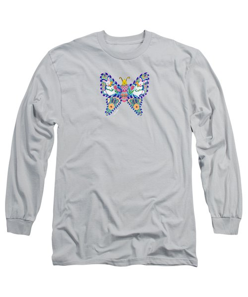 April Butterfly Long Sleeve T-Shirt