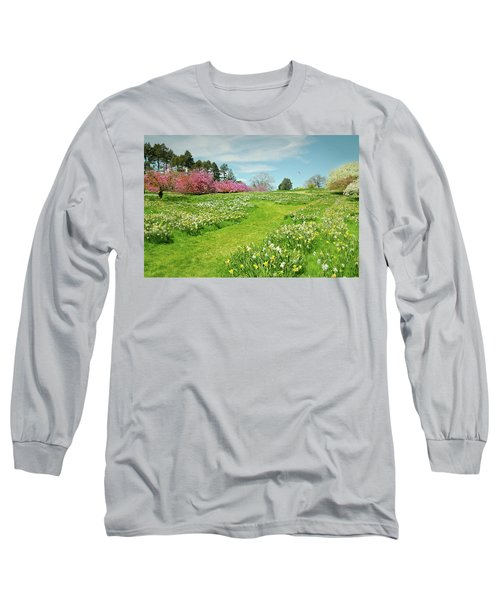 Long Sleeve T-Shirt featuring the photograph April Days by Diana Angstadt