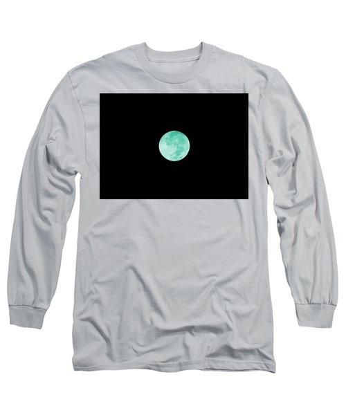 Aqua Moon Long Sleeve T-Shirt