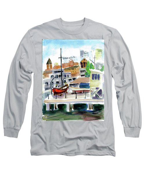 Aquatic Park1 Long Sleeve T-Shirt by Tom Simmons