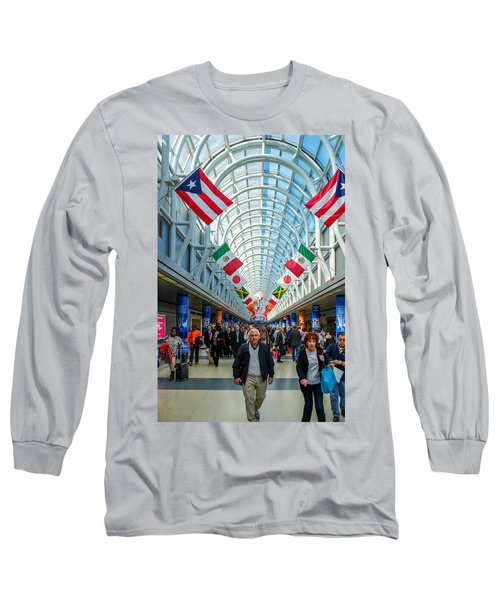 Arcade Of Flags Long Sleeve T-Shirt