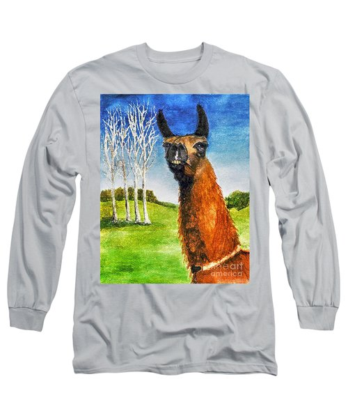 Archimedes Long Sleeve T-Shirt by Polly Peacock