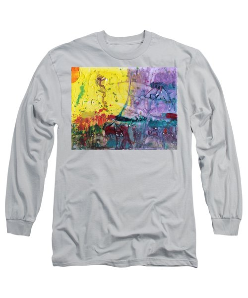 Architect Long Sleeve T-Shirt by Phil Strang
